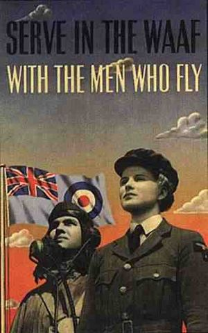 English: Recruitment poster for WAAF