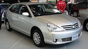 Toyota Allion Википедия