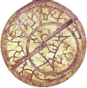 Astrolabe, used for navigation until around 17...