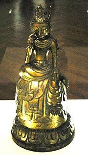 Statua di bodhisattva del periodo Asuka.