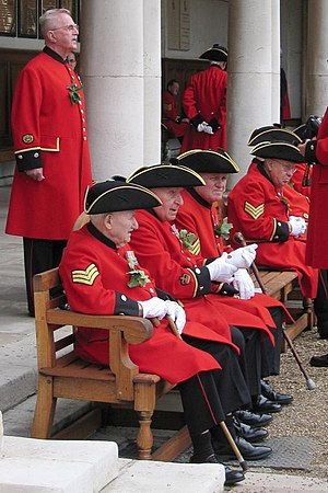 English: Chelsea pensioners