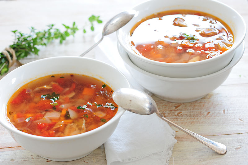 File:Chicken & veg soup-3.jpg