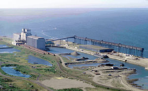 Churchill, Manitoba, Canada: Seaport and granary