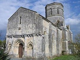 église rétaud GR360