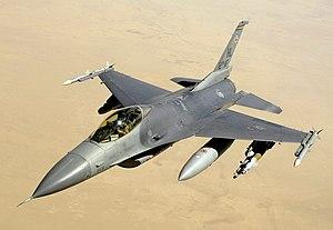 U.S. Air Force F-16C Block 40 over Iraq, 2008