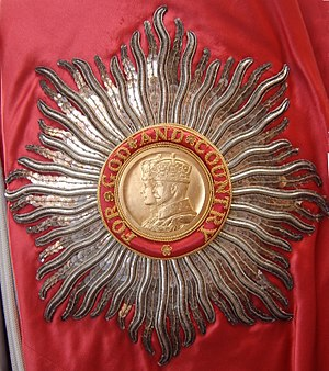 English: Star of a Knight or Dame Grand Cross ...