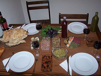 Georgian Feast