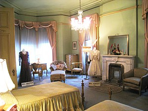 Guest bedroom - Governor's Mansion State Histo...