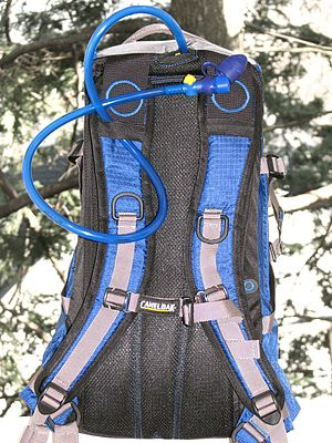 Hydration pack manufactured by CamelBak