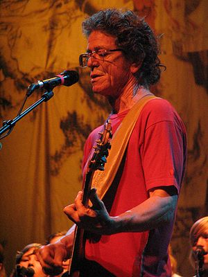 English: Lou Reed in Málaga, Spain, July 21, 2...