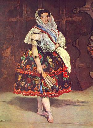 Manet, Edouard - Lola de Valence
