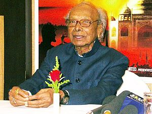 English: Indian musician Naushad