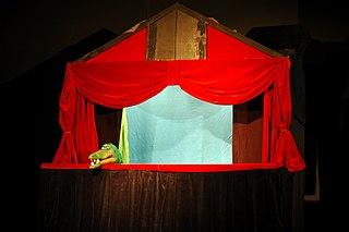 teatrinho de fantoches