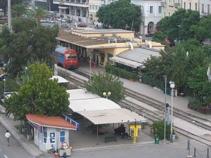 Station of Patras, Greece