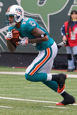 Ted Ginn, Jr. of the Miami Dolphins