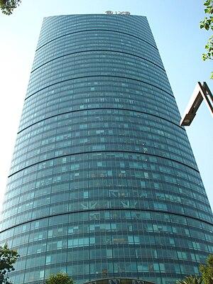 Español: Torre Mayor desde el Paseo de la Refo...