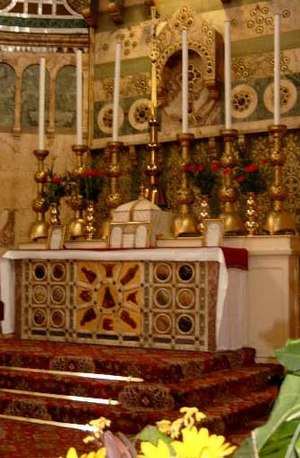 """A visit to the Blessed Sacrament is the """"..."""