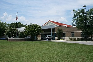 Sherwood Githens Middle School in Durham, Nort...