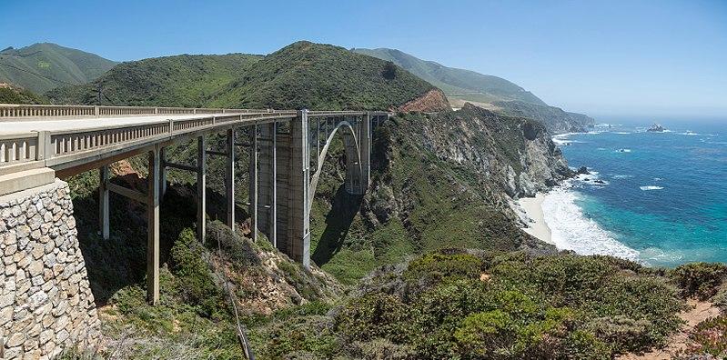 File:Bixby Creek Bridge, California, USA - May 2013.jpg