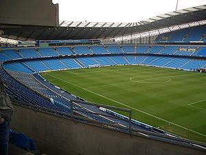 The City of Manchester Stadium, the main venue...