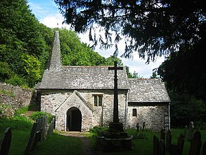 Culbone Church The smallest complete medieval ...