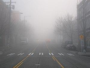 Fog in Seattle