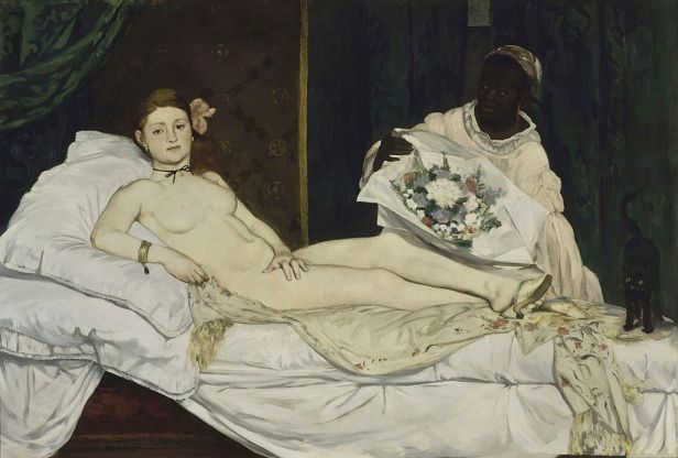Edouard Manet - Olympia - Google Art Project