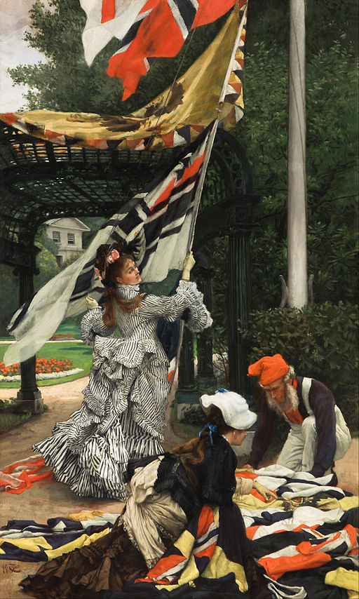 """""""Still on Top"""" by James Tissot"""
