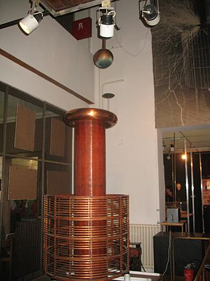 English: Nikola Tesla Museum in Belgrade, a Te...