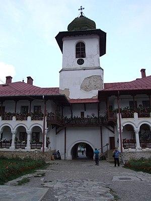 Agapia Monastery, Romania, 18.08.2007