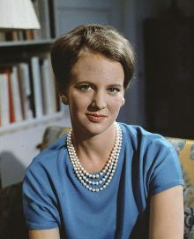 Princess Margrethe in 1966