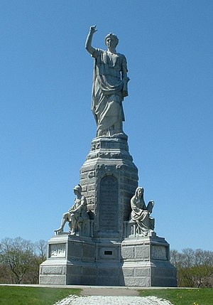 National Monument to the Forefathers, Plymouth...