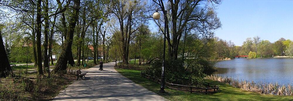Park Sołacki.