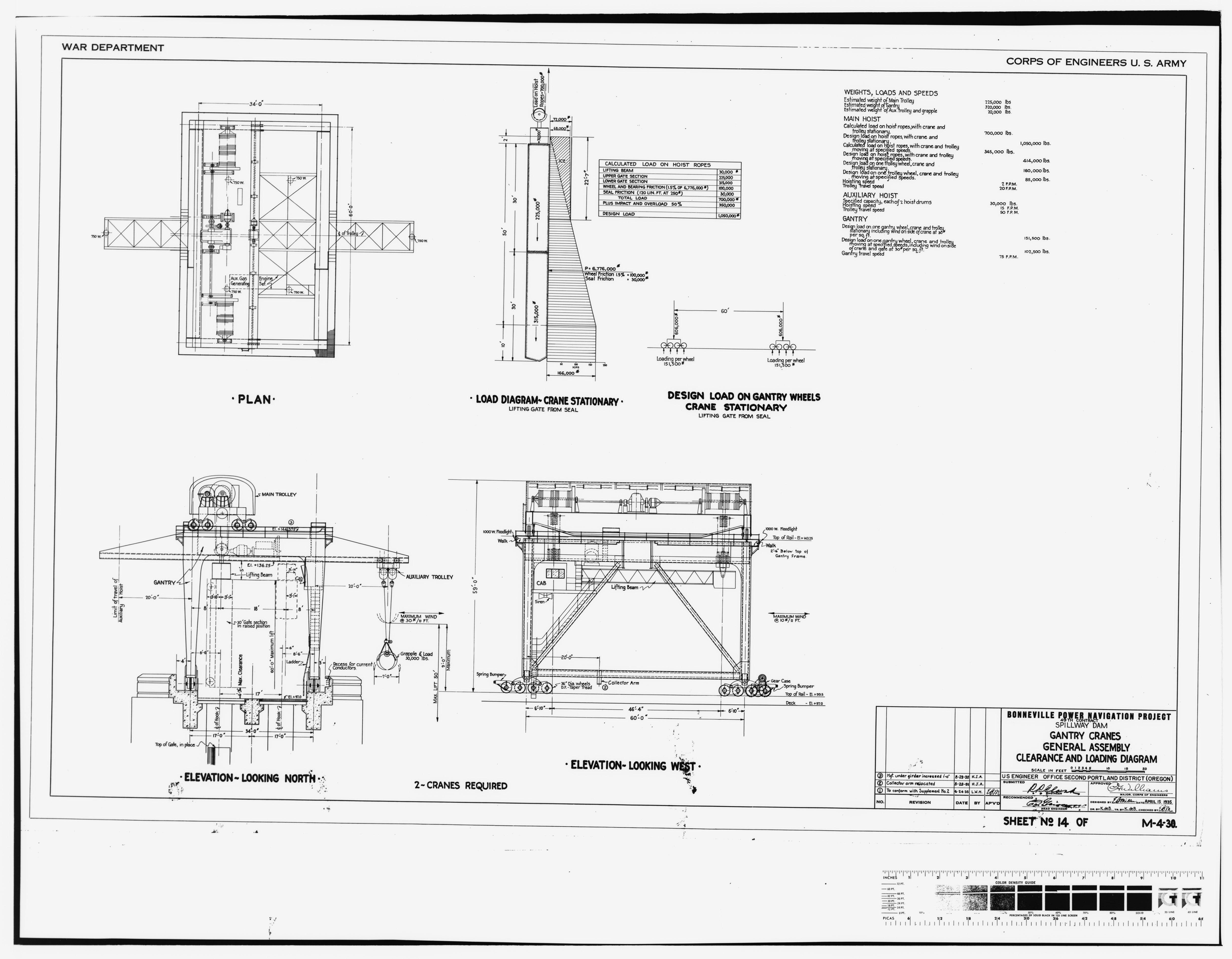 File Photocopy Of Original Construction Drawing 15 April