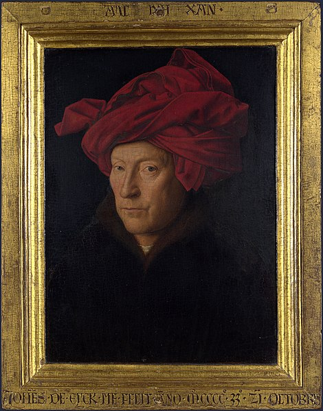 File:Portrait of a Man in a Turban (Jan van Eyck) with frame.jpg