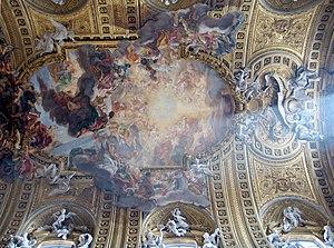 Giovanni Battista Gaulli, Triumph of the Name ...