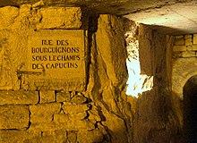 Carrires Souterraines De Paris Wikipdia
