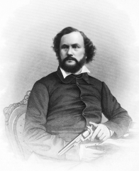 Samuel Colt engraving by John Chester Buttre, c1855