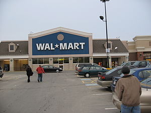 The Wal-Mart in the Mountain Farms Mall