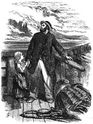 "English: Illustration for ""The Wreck of t..."