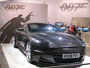 Aston Martin DBS James Bond. For Germans: Ein ...
