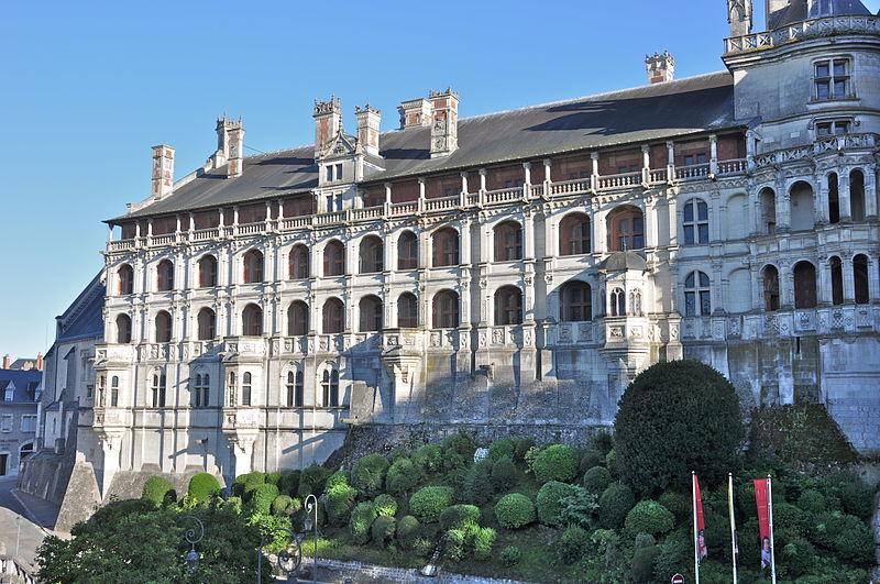 Château de Blois - Façade des Loges