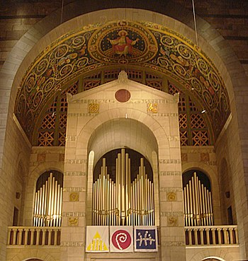 English: Fountain Street Church organ, Grand R...