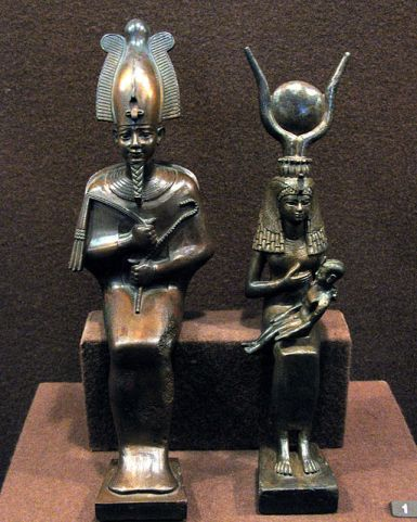 Hermitage Egyptian statuettes