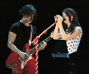 The White Stripes at the 2007 O2 Wireless fest...