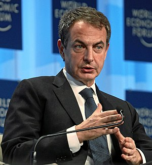 José Luis Rodríguez Zapatero, Prime Minister o...