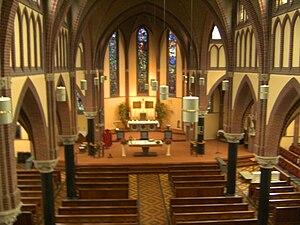 Nederlands: Binnenkant kerk