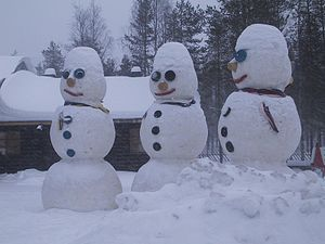 The Snowman's in Santa Claus Village, Rovaniemi
