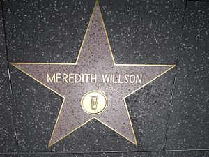 Meredith Willson's star on the Hollywood Walk ...
