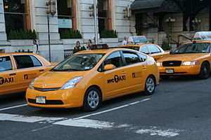 New York Cab - Toyota Prius